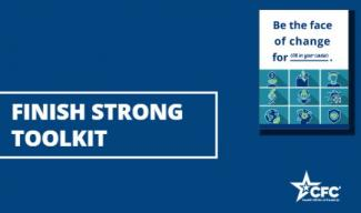 Cover image of the Finish Strong Toolkit